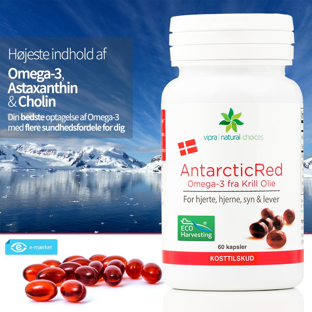 Køb danske AntarcticRed Krill Olie