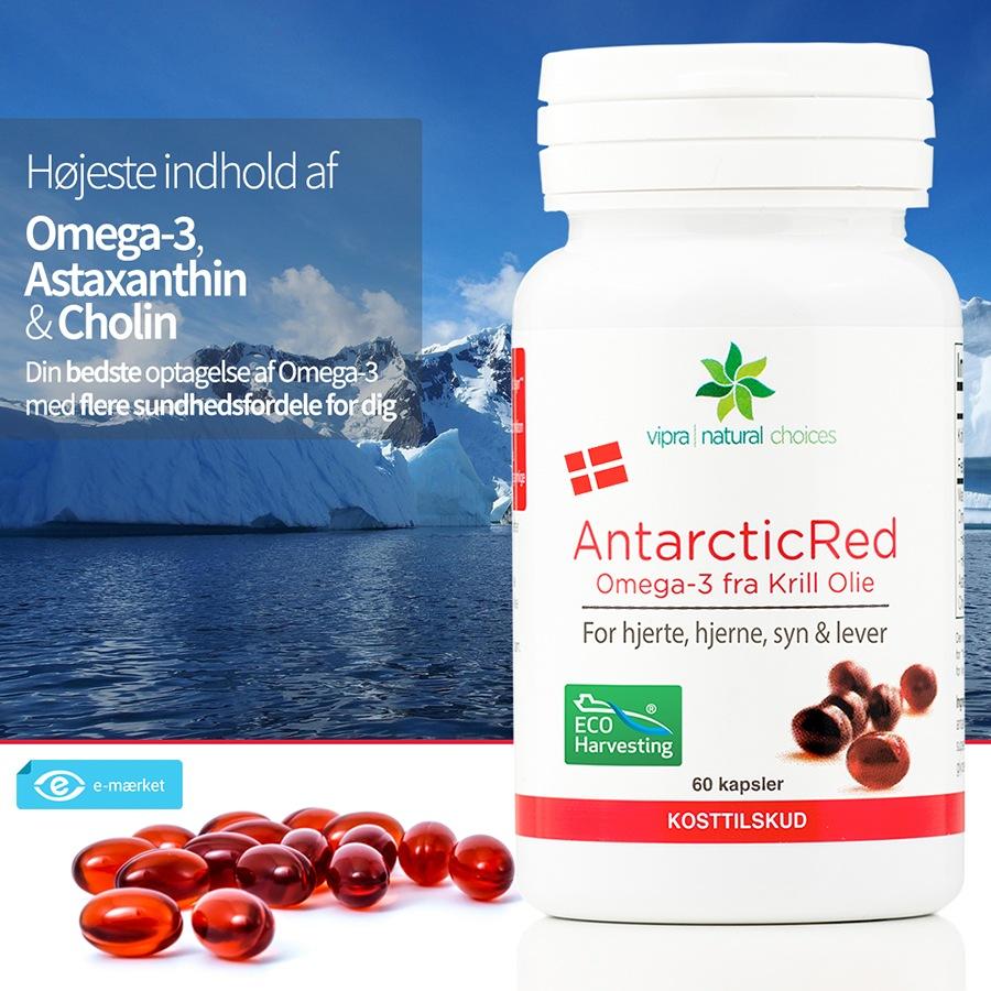 Køb AntarcticRed Krill Olie