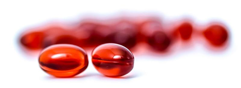 Krill olie kapsler - mindre end fiskeolie