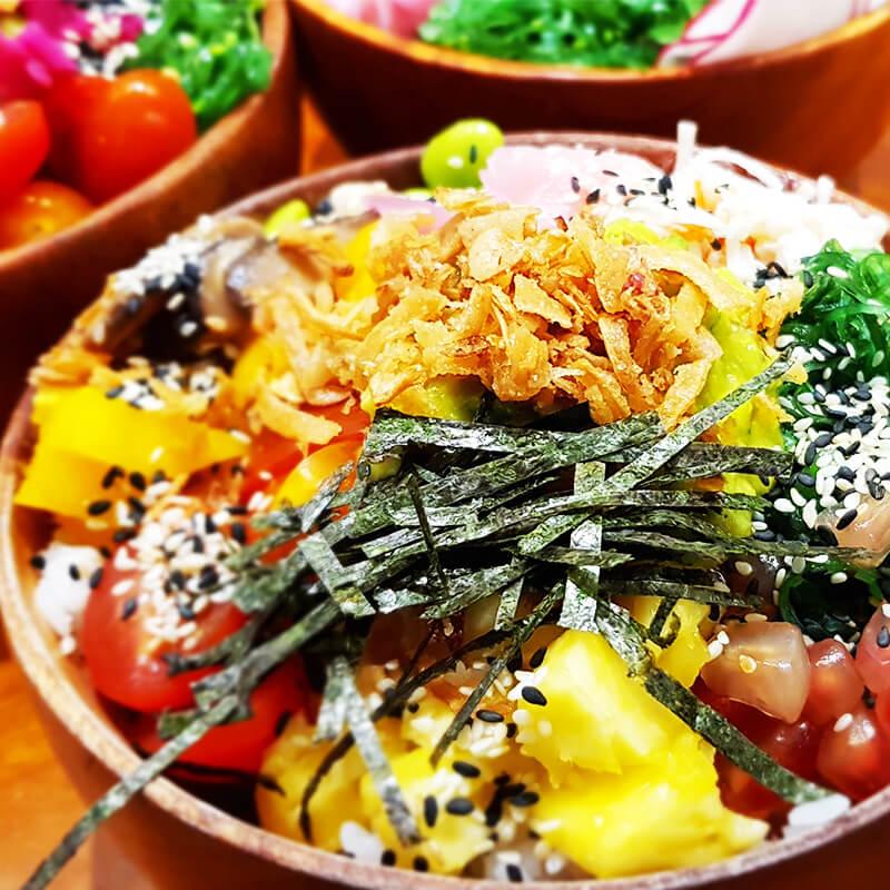 Hawaiian Tuna Poké Bowl