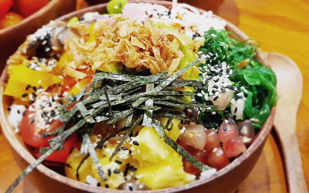 Hawaiian Tuna Poké Bowl