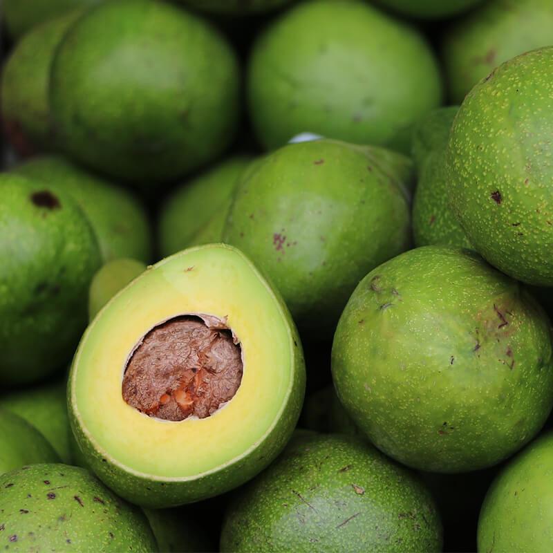 Avocado i Laks og Avocado Poke Bowl