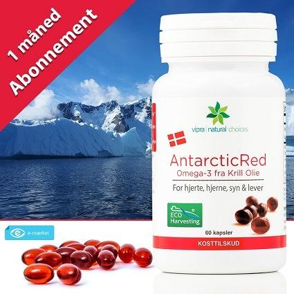 Køb AntarcticRed Omega-3 Krill Olie kosttilskud