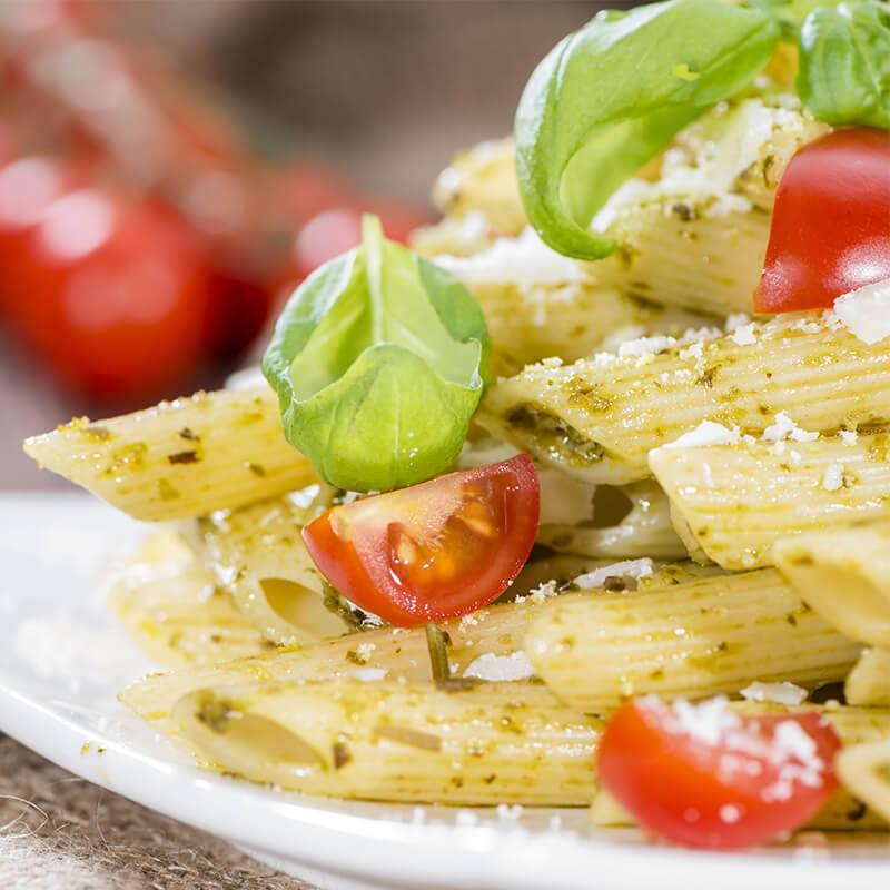 Italiensk Pesto Pasta Opskrift - sundt og lækkert!