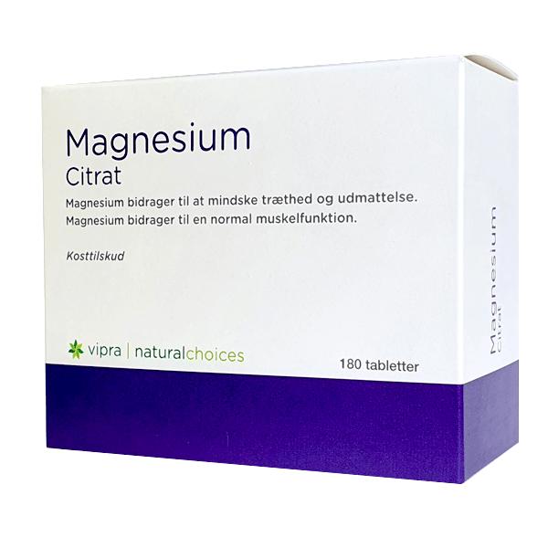 Køb Magnesium Citrat Kosttilskud