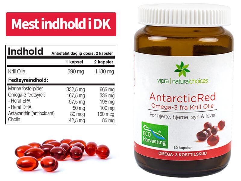 Køb AntarcticRed Krill Olie - Bæredygtigt og naturligt kosttilskud